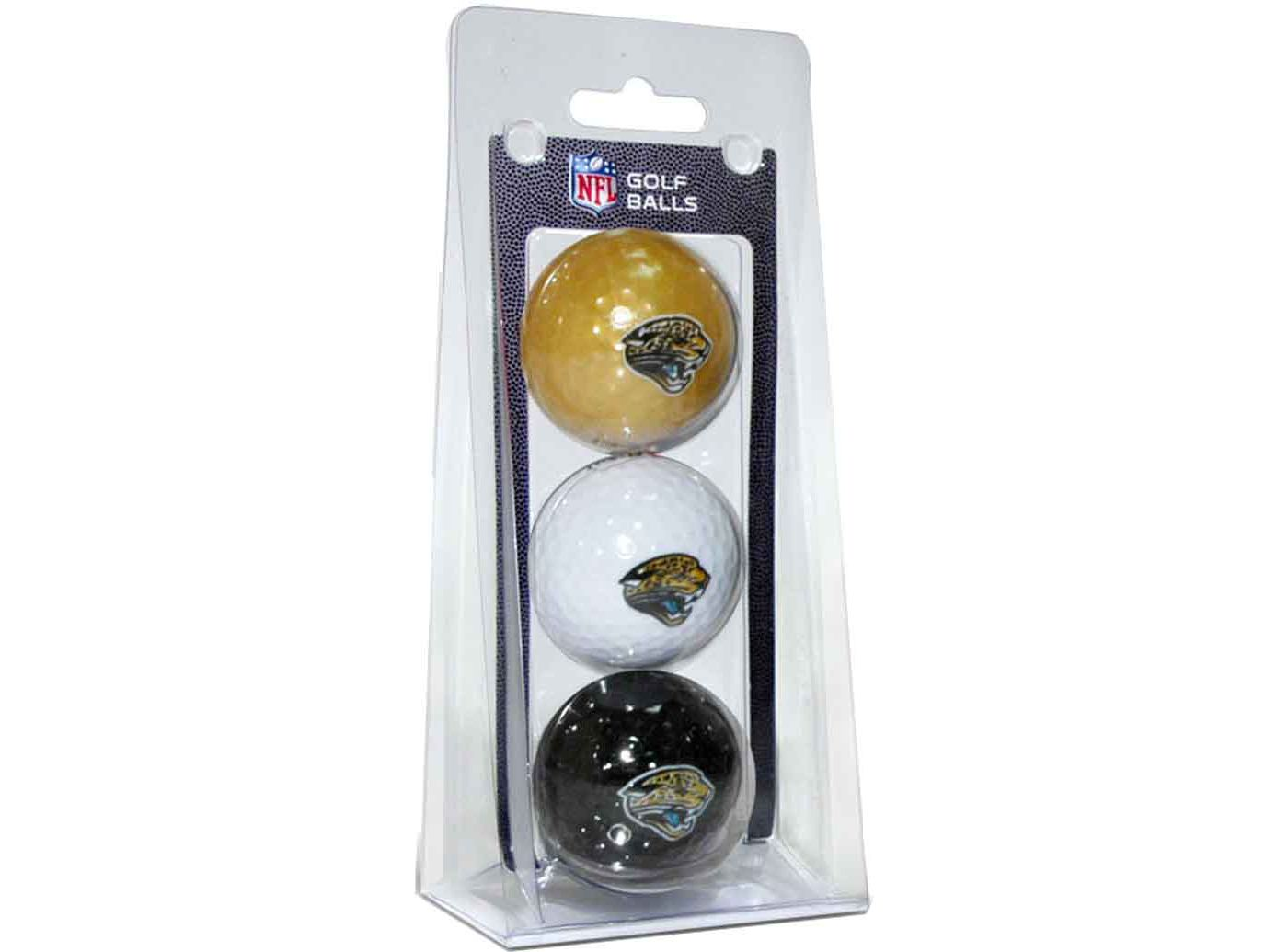 Team Golf Jacksonville Jaguars Golf Balls – 3 Pack