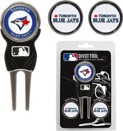 Team Golf Toronto Blue Jays Divot Tool and Marker Set
