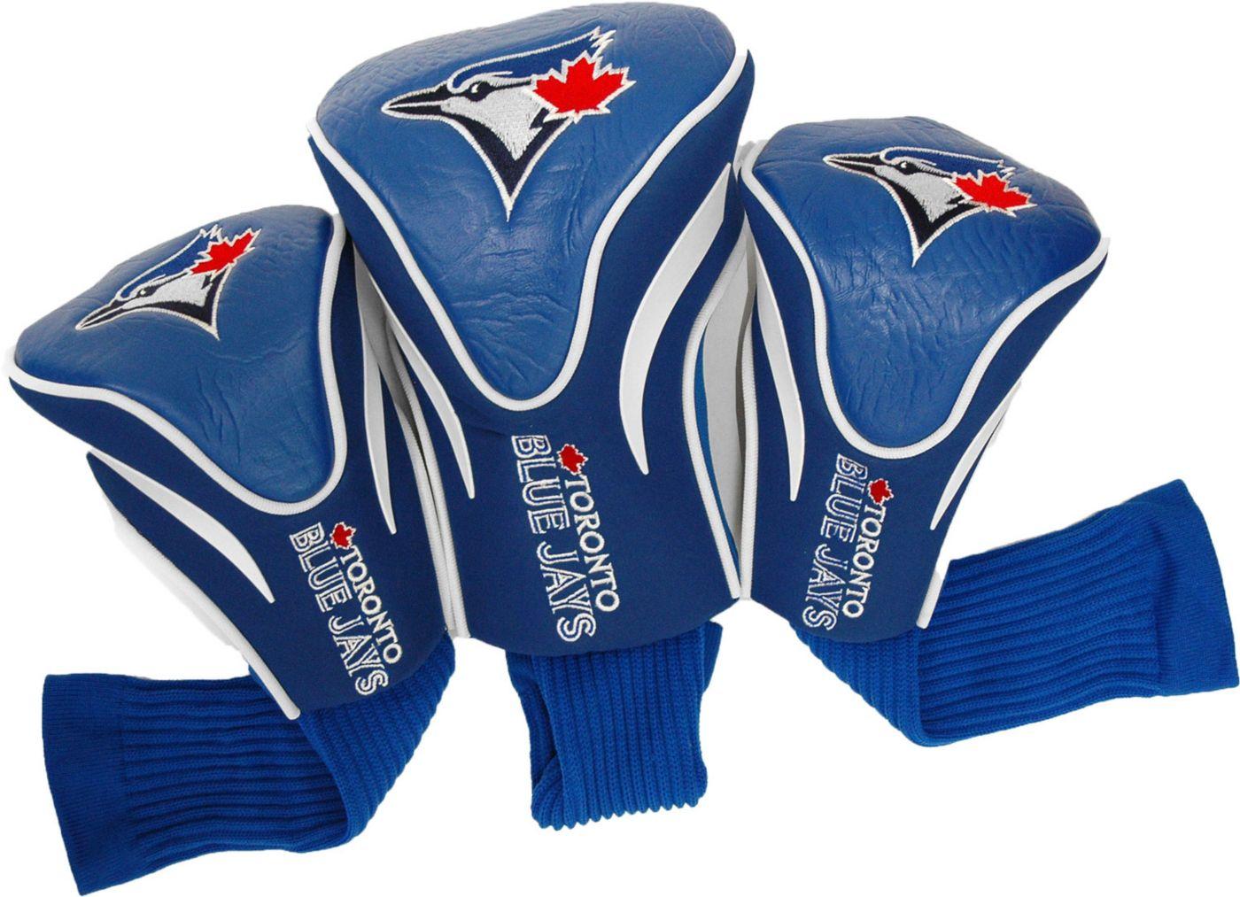 Team Golf Toronto Blue Jays Contoured Headcovers - 3-Pack