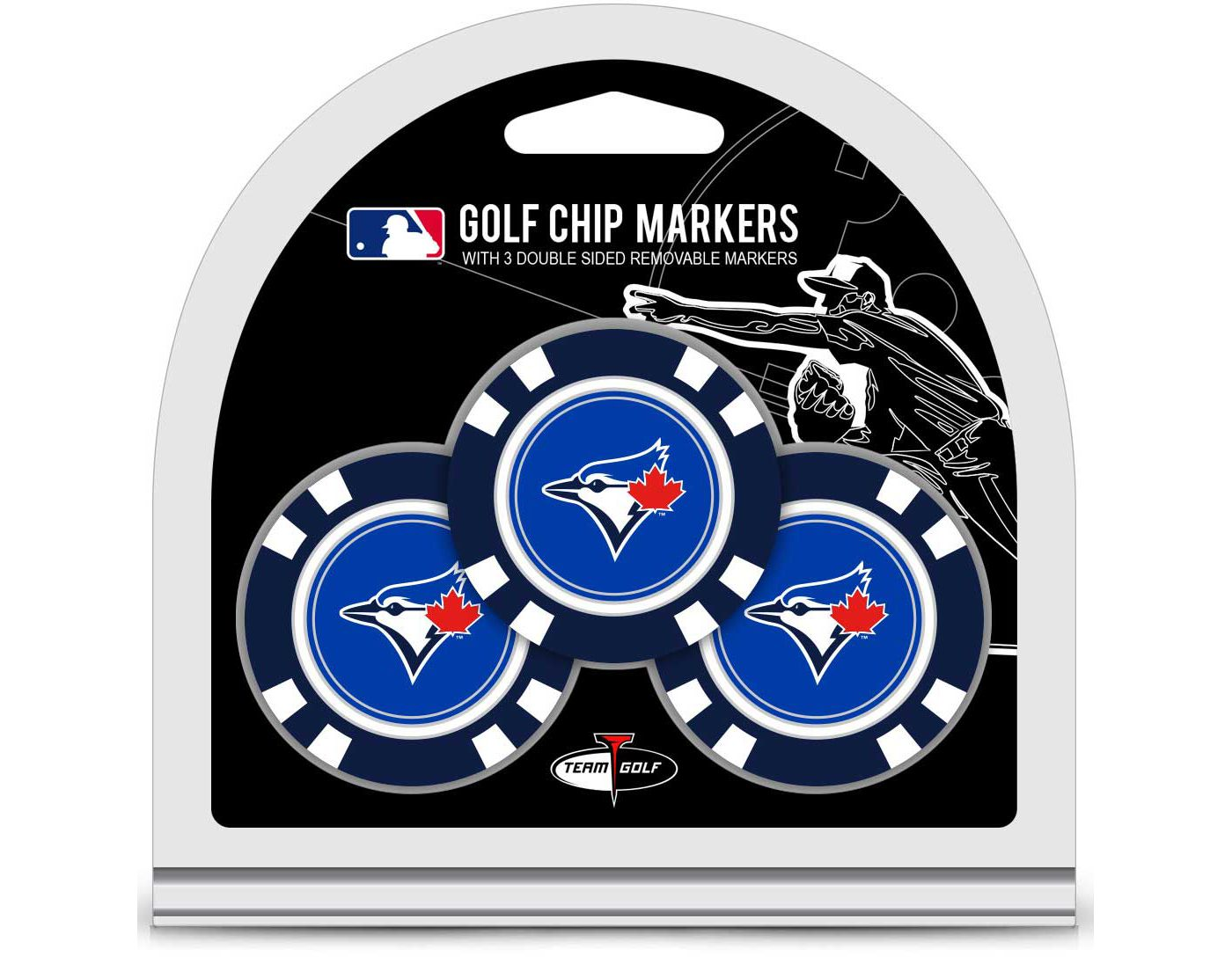Team Golf Toronto Blue Jays Golf Chips - 3 Pack