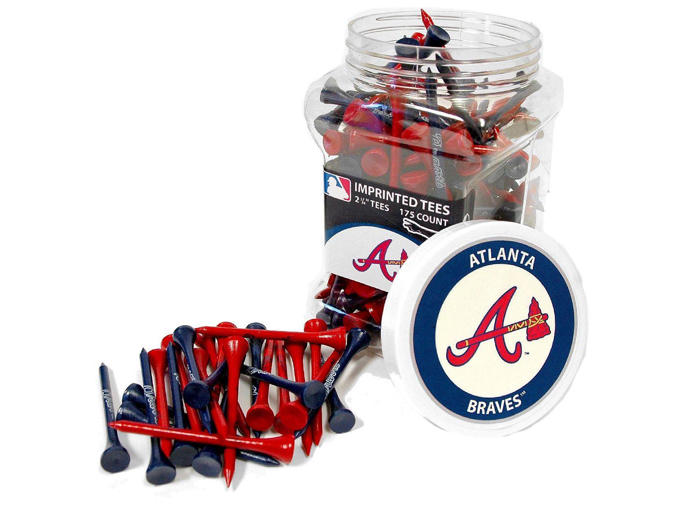 "Team Golf Atlanta Braves 2.75"" Golf Tees - 175 Pack"