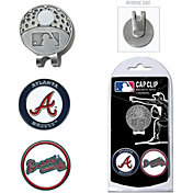 Team Golf Atlanta Braves Cap Clip and Marker Set