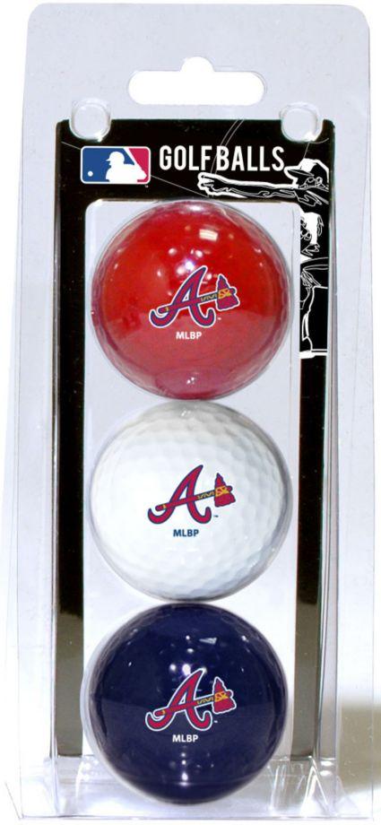 Team Golf Atlanta Braves Golf Balls - 3 Pack