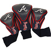 Team Golf Atlanta Braves Contoured Headcovers - 3-Pack