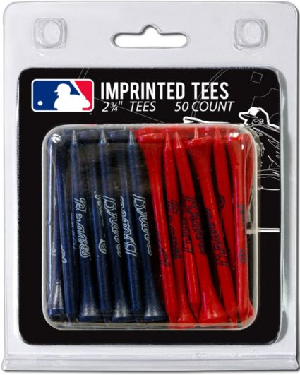 Team Golf Atlanta Braves 2.75'' Golf Tees - 50 Pack