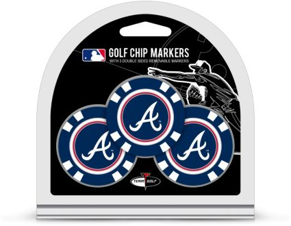 Team Golf Atlanta Braves Golf Chips - 3 Pack