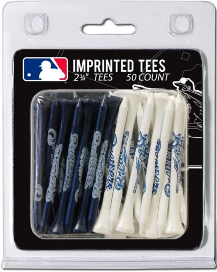 Team Golf Milwaukee Brewers 2.75'' Golf Tees - 50 Pack