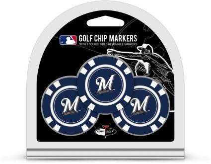 Team Golf Milwaukee Brewers Golf Chips - 3 Pack
