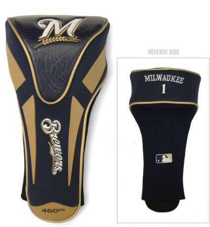 Team Golf Milwaukee Brewers Single Apex Headcover