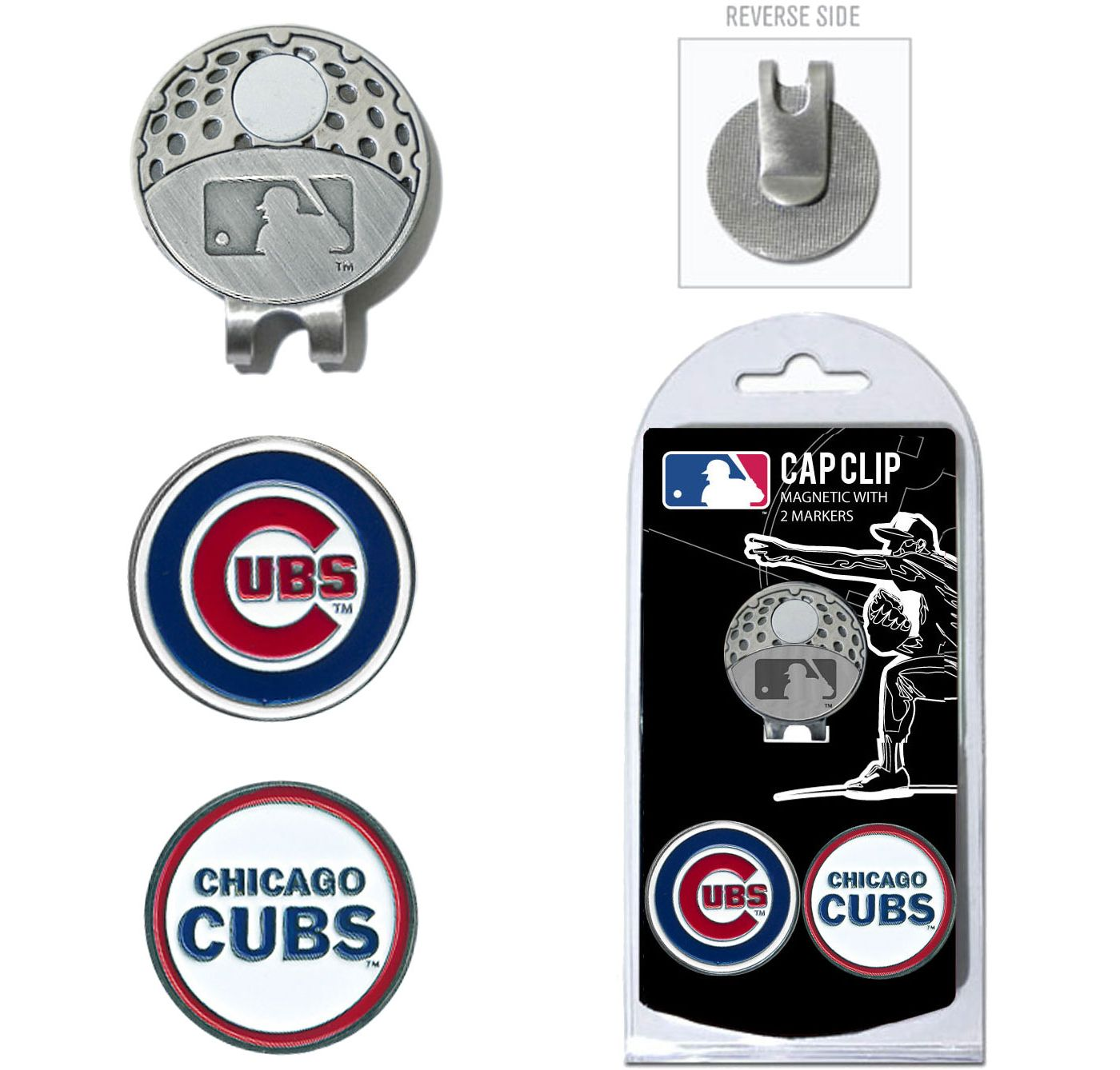 Team Golf Chicago Cubs Cap Clip