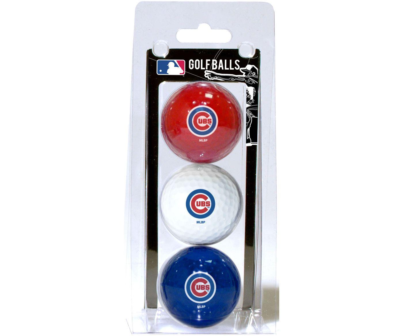 Team Golf Chicago Cubs Golf Balls - 3 Pack