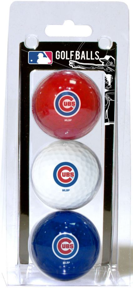 Team Golf Chicago Cubs Golf Balls - 3 Pack