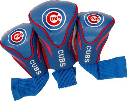 Team Golf Chicago Cubs Contour Sock Headcovers - 3 Pack