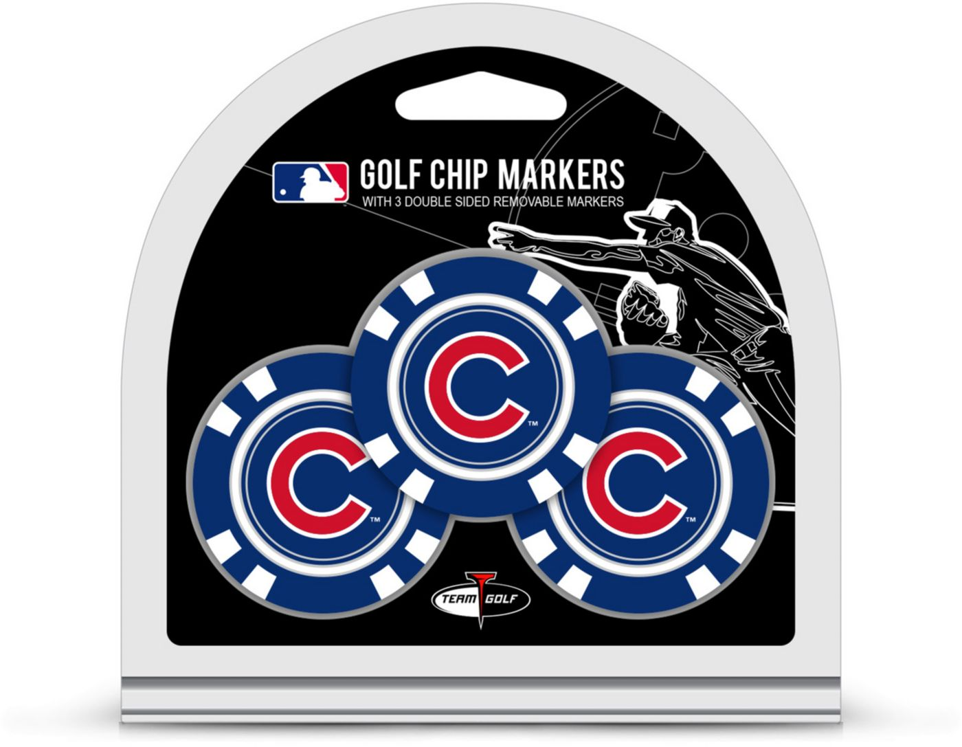 Team Golf Chicago Cubs Golf Chips - 3 Pack