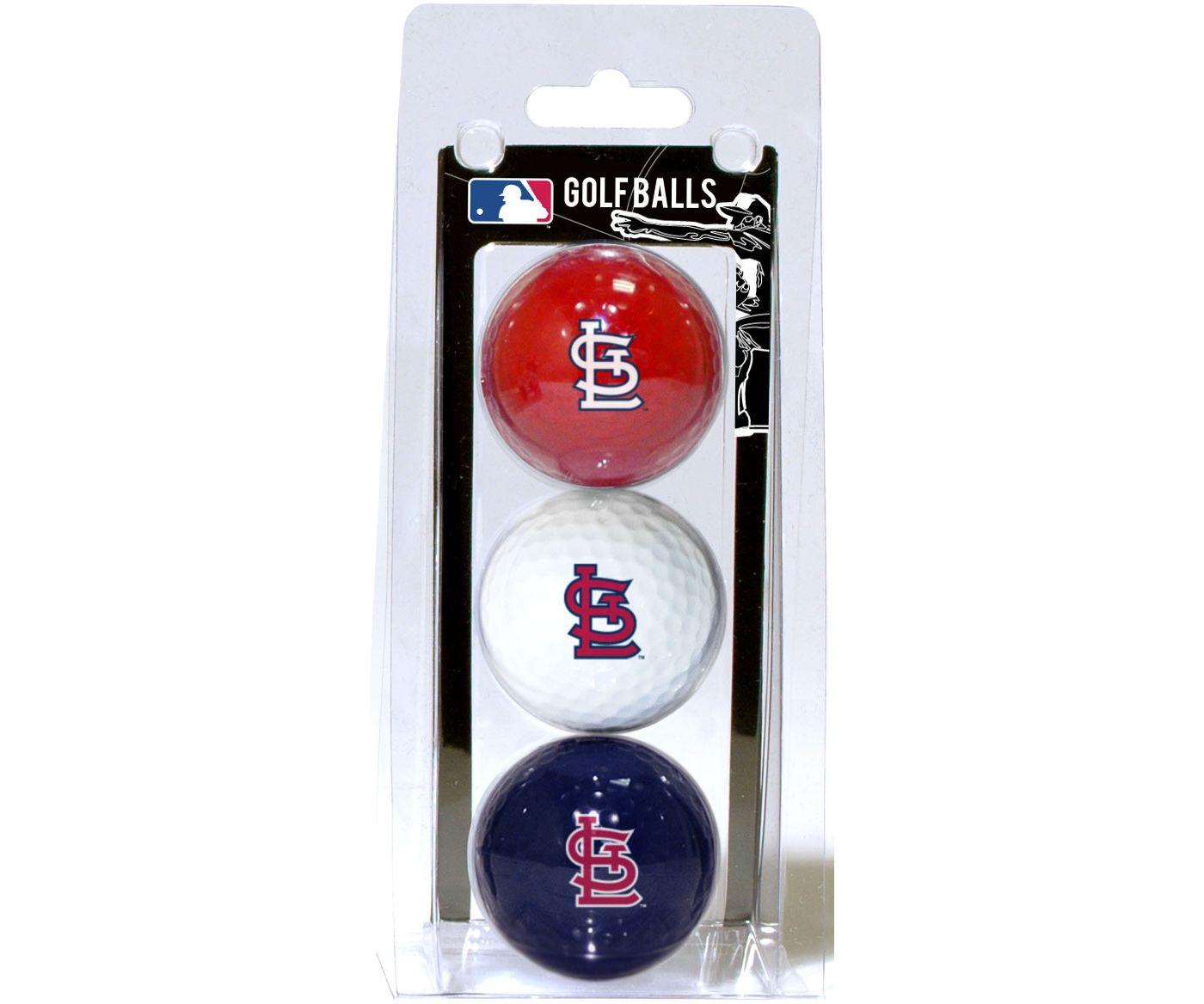 Team Golf St. Louis Cardinals Golf Balls - 3 Pack