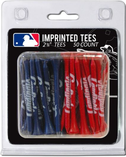 "Team Golf St. Louis Cardinals 2 3/4"" Golf Tees - 50 Pack"