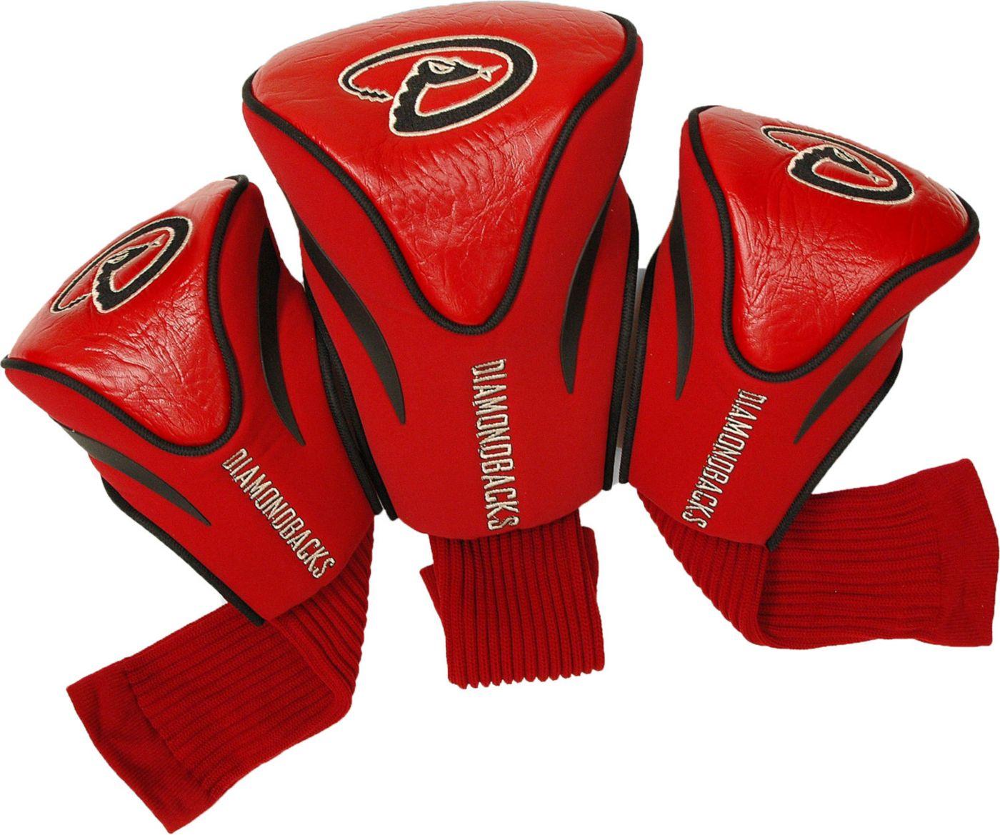 Team Golf Arizona Diamondbacks 3-Pack Contoured Headcovers