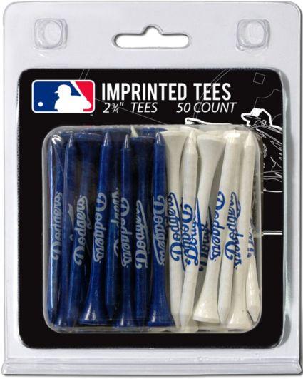 """Team Golf Los Angeles Dodgers 2 3/4"""" Golf Tees - 50 Pack"""