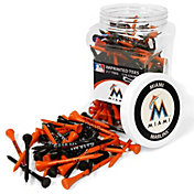"Team Golf Miami Marlins 2.75"" Golf Tees - 175 Pack"