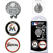 Team Golf Miami Marlins Cap Clip and Marker Set
