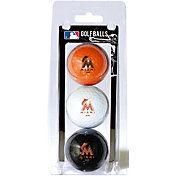 Team Golf Miami Marlins Golf Balls - 3-Pack