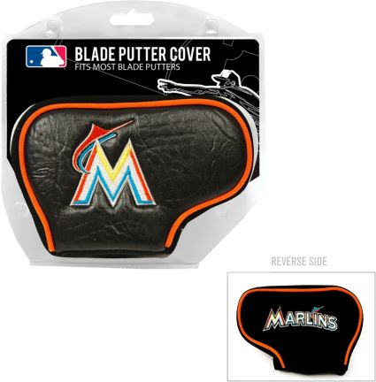 Team Golf Miami Marlins Blade Putter Cover