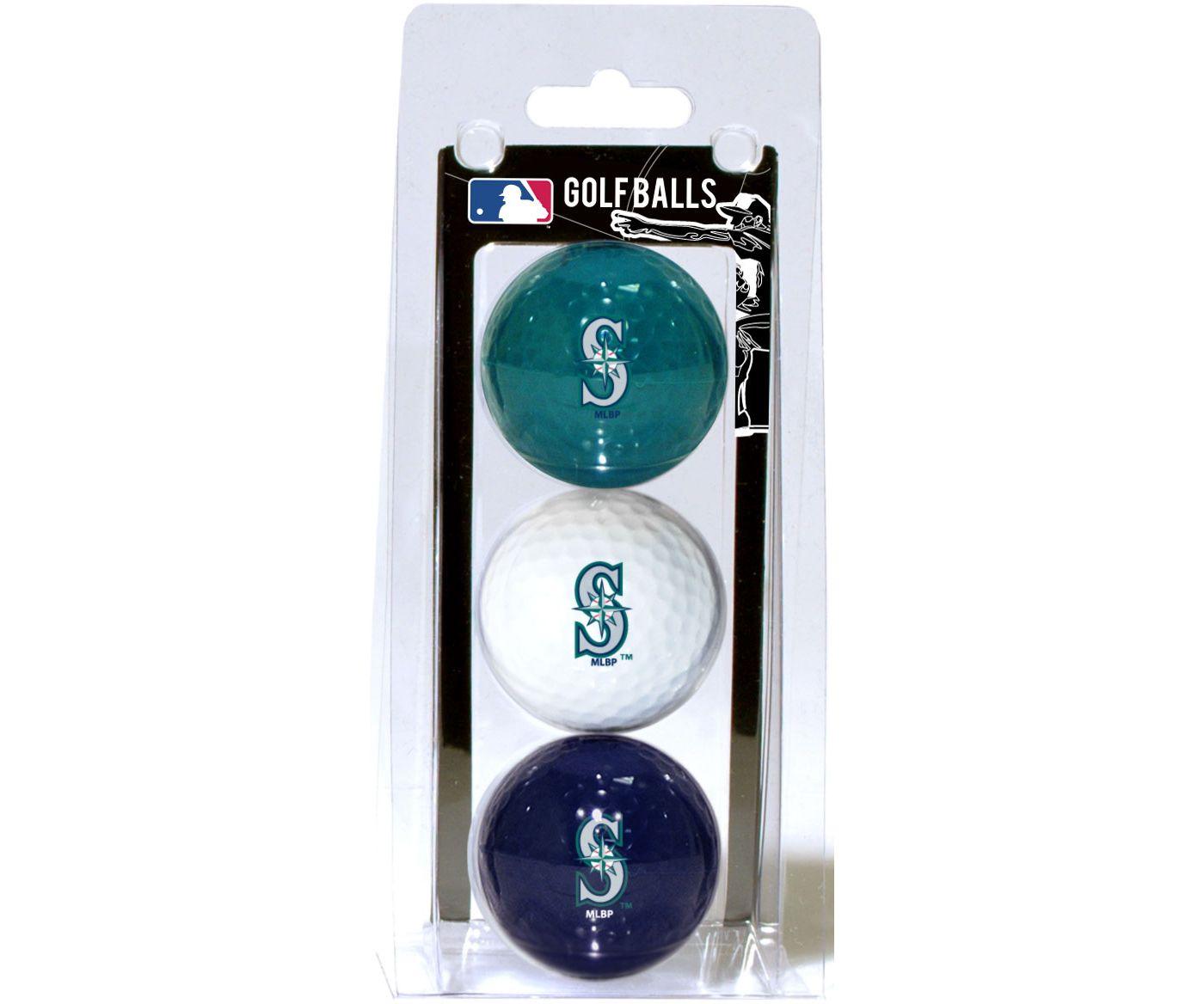 Team Golf Seattle Mariners Golf Balls - 3-Pack