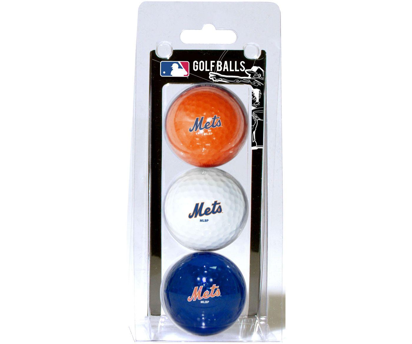 Team Golf New York Mets Golf Balls - 3 Pack