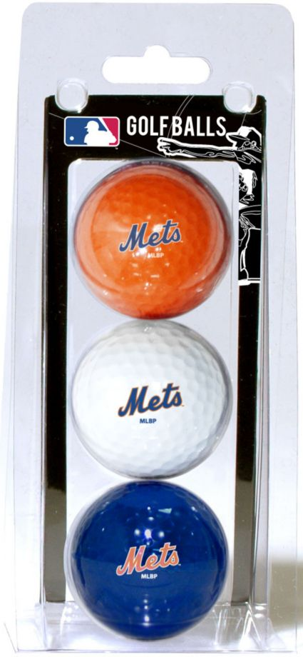 Team Golf New York Mets Golf Balls - 3 Pack