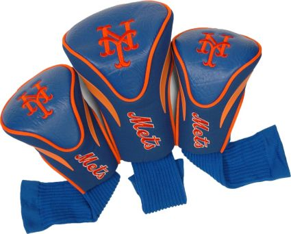 Team Golf New York Mets Contour Sock Headcovers - 3 Pack