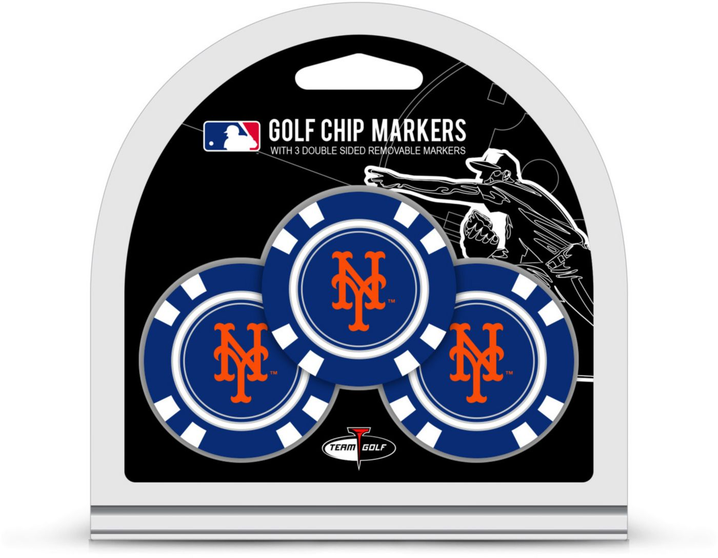 Team Golf New York Mets Golf Chips - 3 Pack