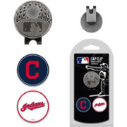 Team Golf Cleveland Indians Cap Clip and Marker Set