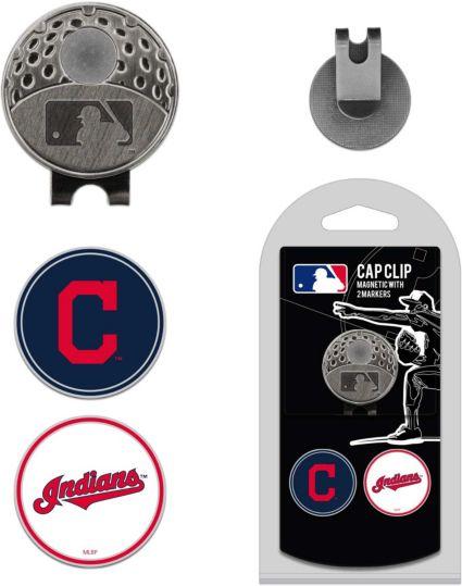 Team Golf Cleveland Indians Cap Clip and Marker Set