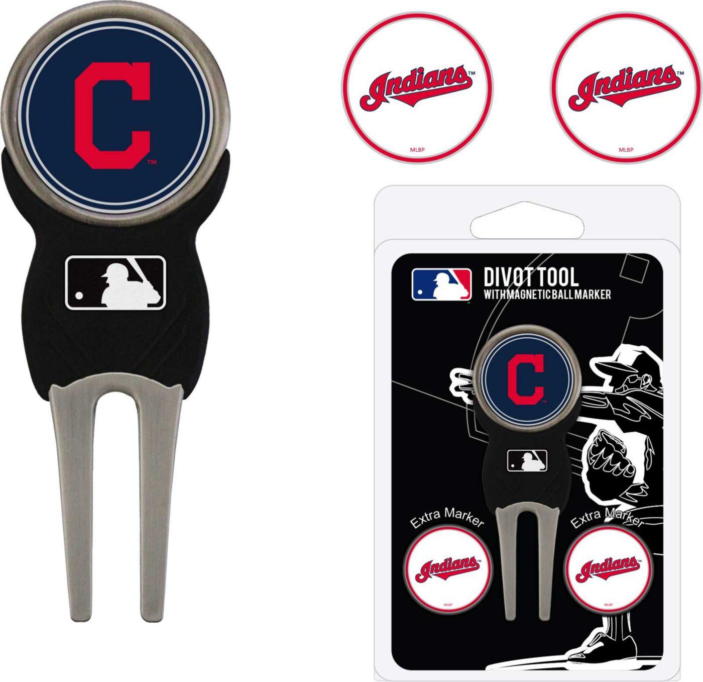 Team Golf Cleveland Indians Divot Tool and Marker Set