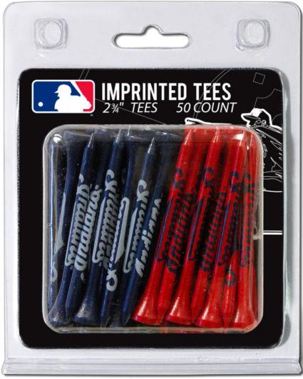 Team Golf Cleveland Indians 2.75'' Golf Tees - 50 Pack