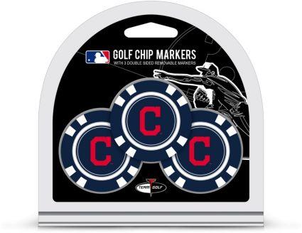 Team Golf Cleveland Indians Golf Chips - 3 Pack