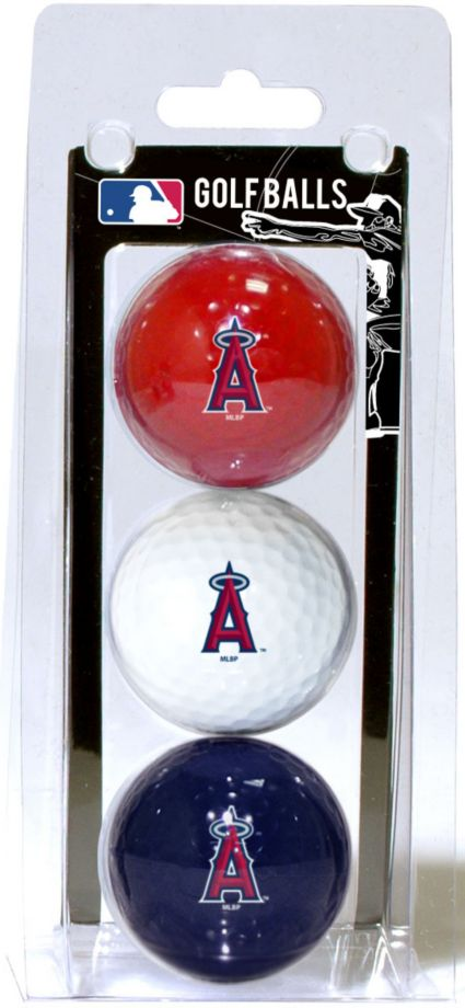 Team Golf LA Angels Golf Balls - 3 Pack