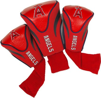 Team Golf Los Angeles Angels Contoured Headcovers 3-Pack