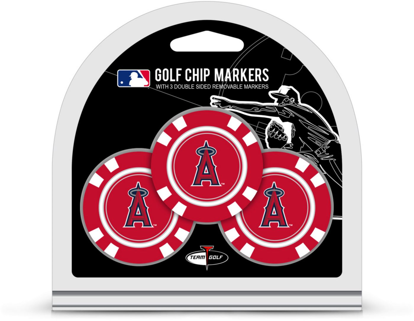 Team Golf Los Angeles Angels Golf Chips - 3 Pack