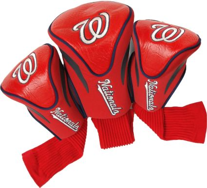 Team Golf Washington Nationals Contour Sock Headcovers - 3 Pack