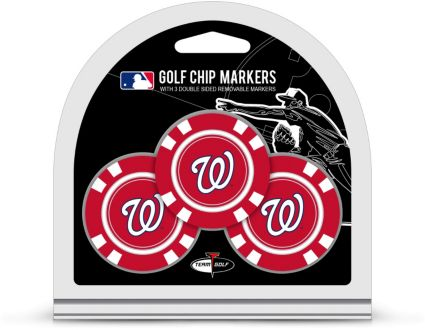 Team Golf Washington Nationals Golf Chips - 3 Pack