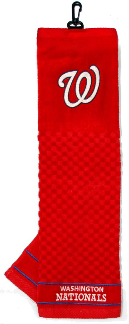 Team Golf Washington Nationals Embroidered MLB Towel