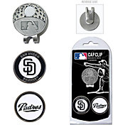 Team Golf San Diego Padres Cap Clip and Marker Set