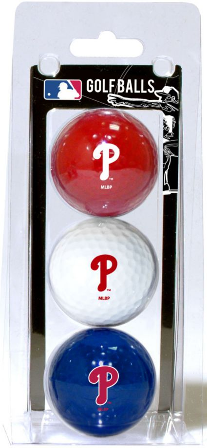 Team Golf Philadelphia Phillies Golf Balls - 3 Pack