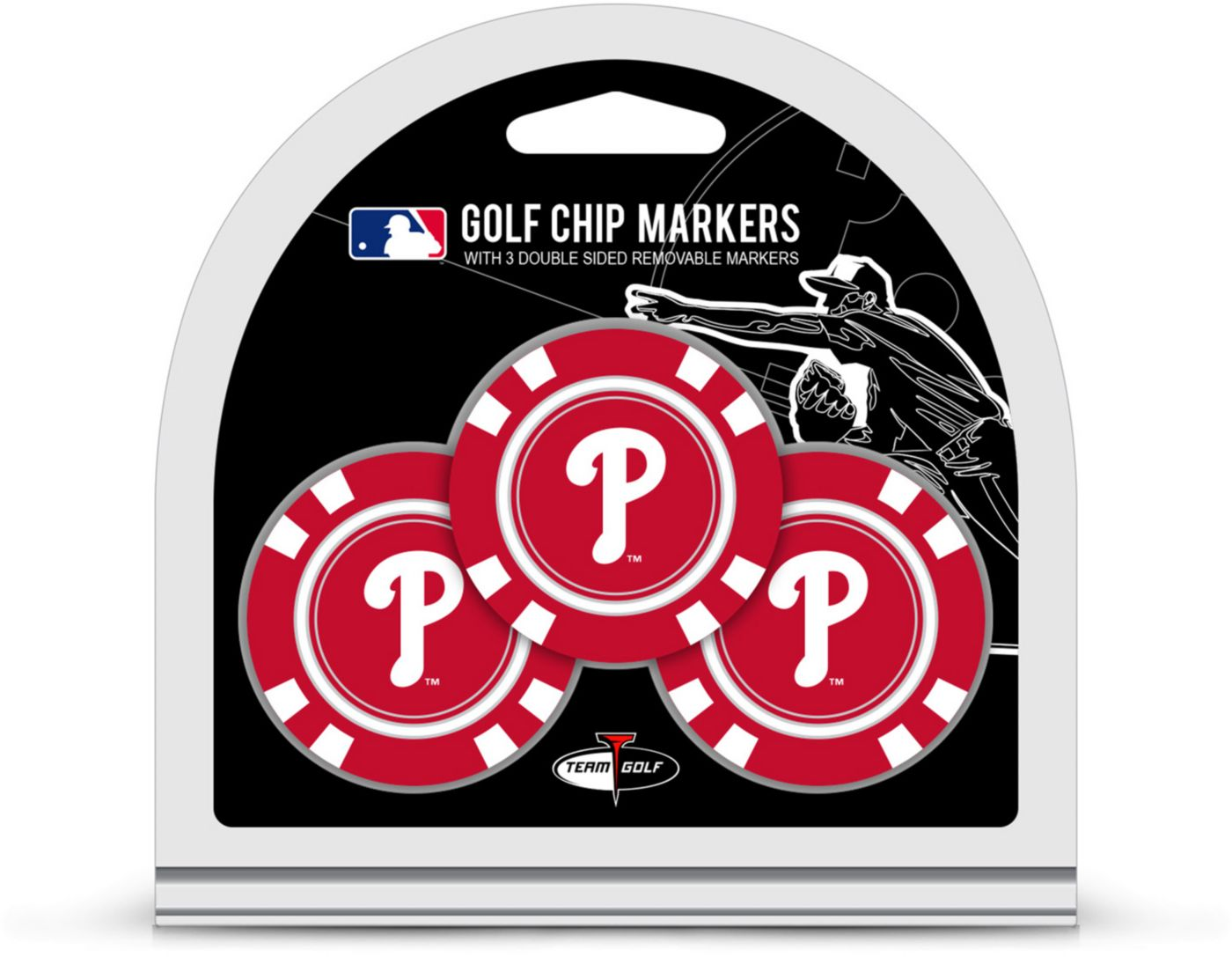 Team Golf Philadelphia Phillies Golf Chips - 3 Pack