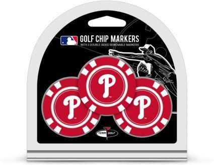 Team Golf Philadelphia Phillies MLB Golf Chips - 3 Pack