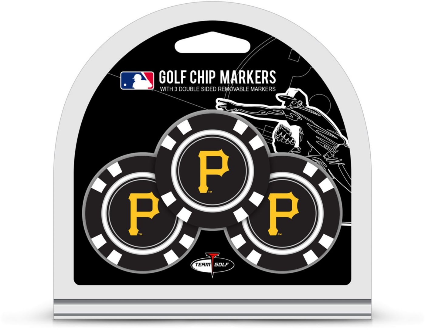 Team Golf Pittsburgh Pirates Golf Chips - 3 Pack