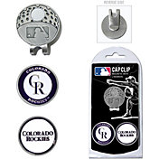 Team Golf Colorado Rockies Cap Clip and Marker Set