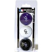 Team Golf Colorado Rockies Golf Balls - 3-Pack