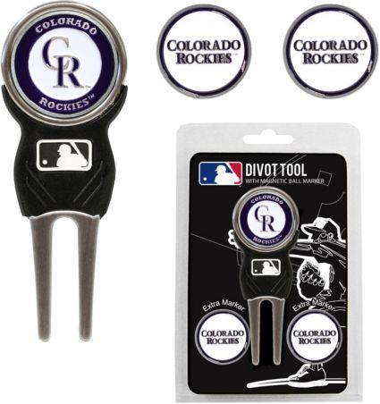 Team Golf Colorado Rockies Divot Tool and Marker Set